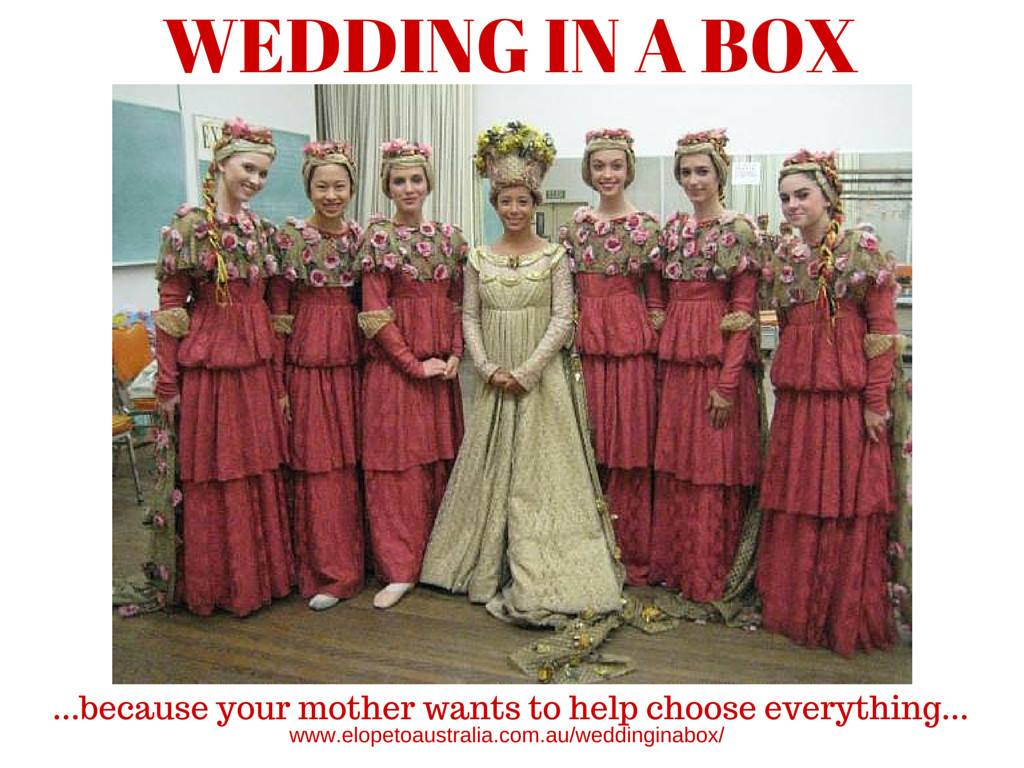 Have the wedding you want
