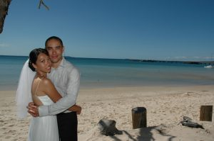 Fraser Island elopement
